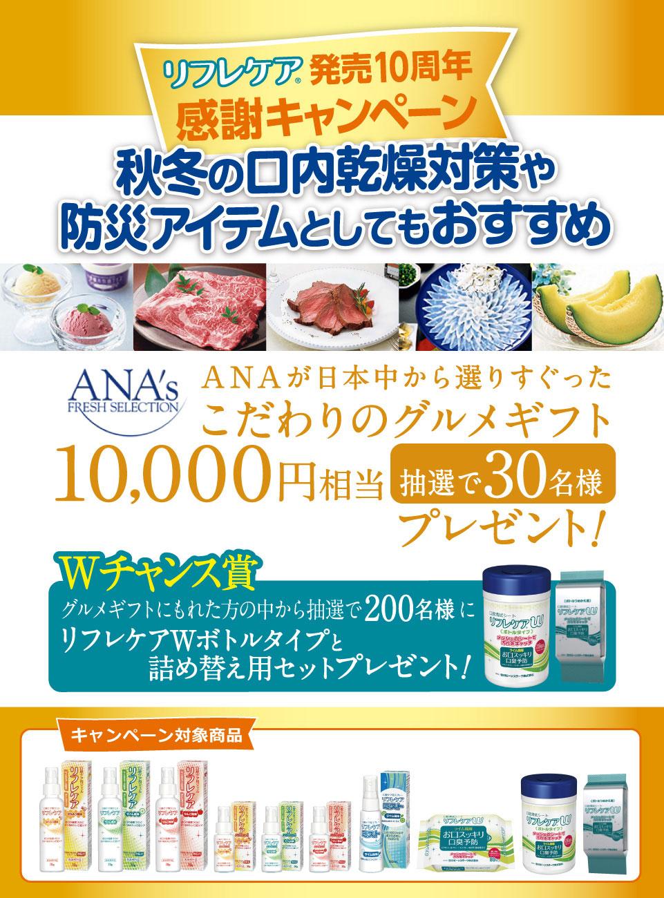 リフレケア発売10周年感謝キャンペーン